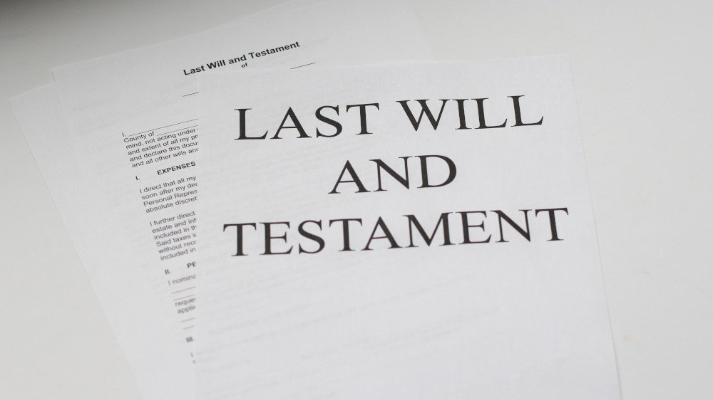 steps to writing a will